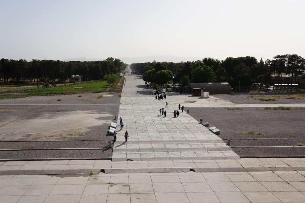 pohled z Persepole