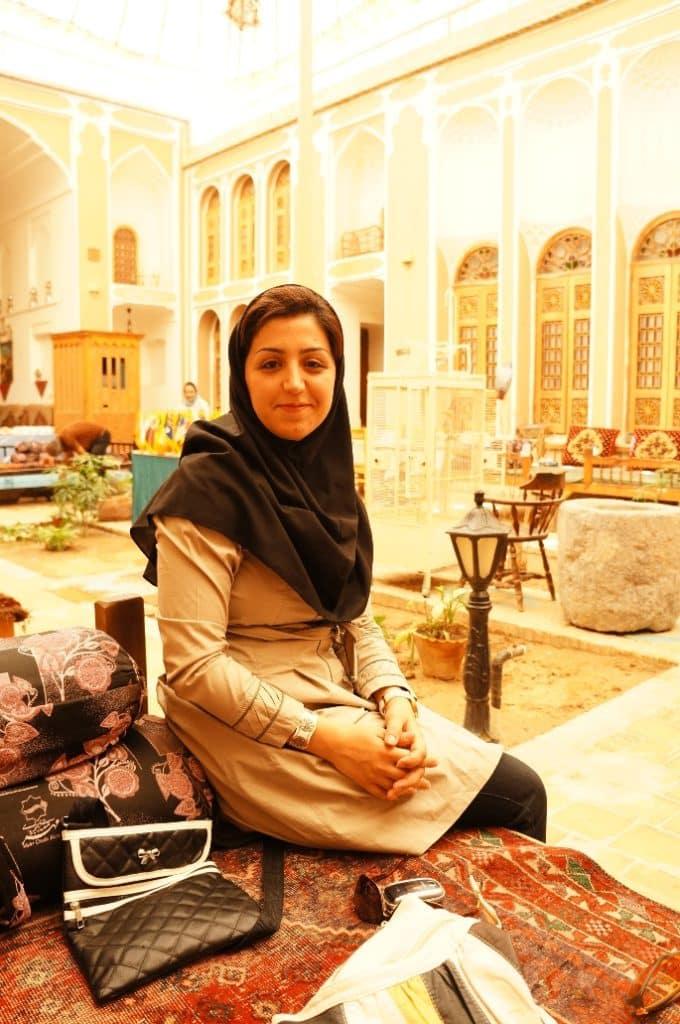 Mahasti z města Jazd