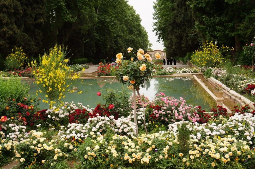 Bāgh-e Shāzdeh Princeznina zahrada poblíž města Máhán a Kermán je na seznamu UNESCO