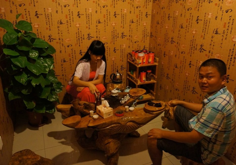 doslova Čínský čajový obřad za všechny prachy