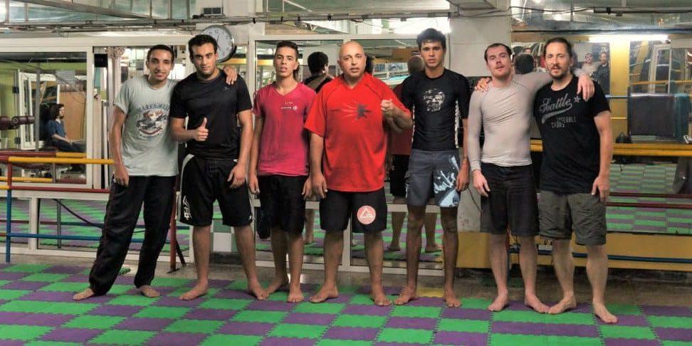Lekce Jiu Jitsu v Marockém Rabatu, Vit Lastovka, Jaknacesty.cz