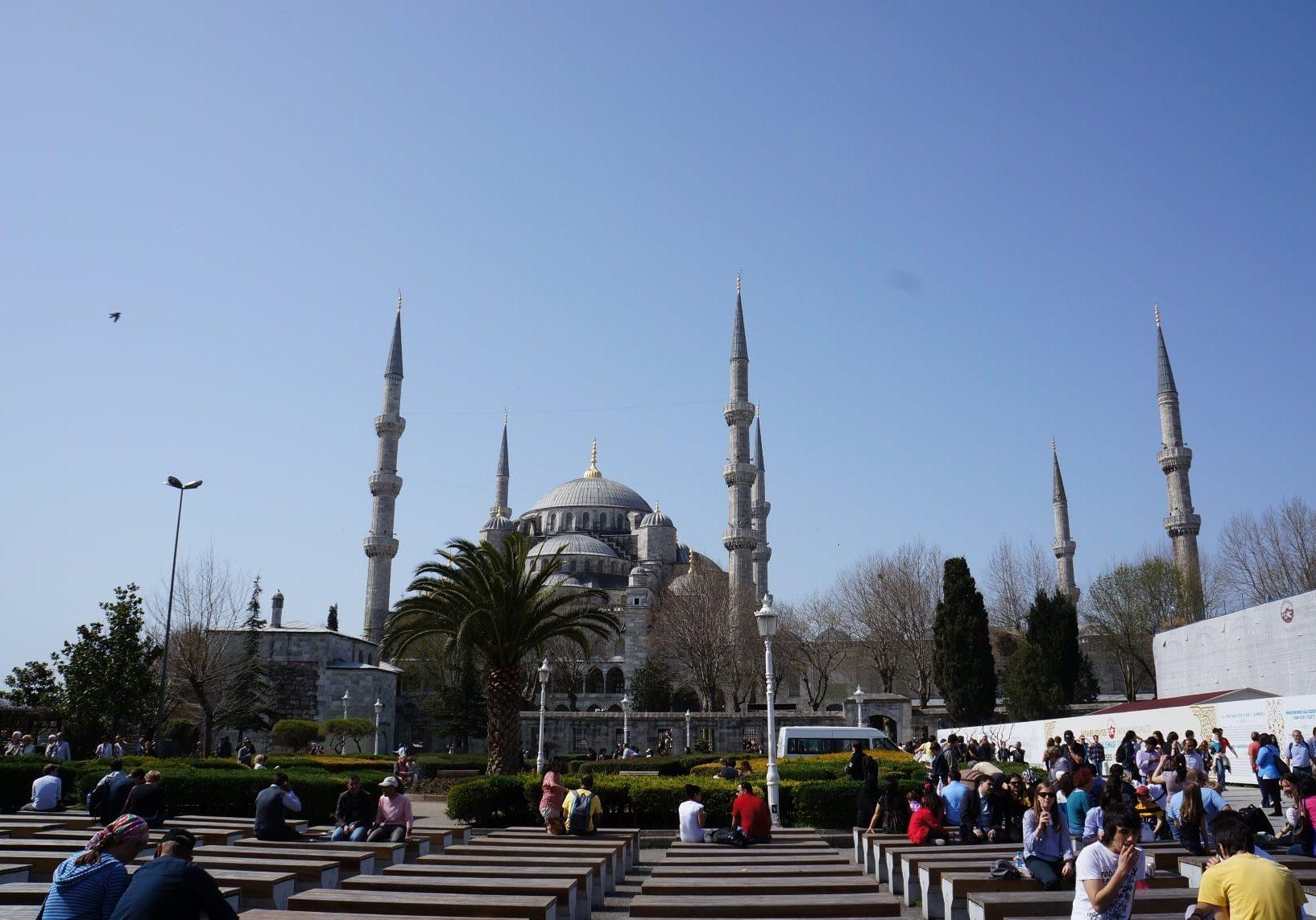 Sulejmanova-mešita-Istanbul-Tureco