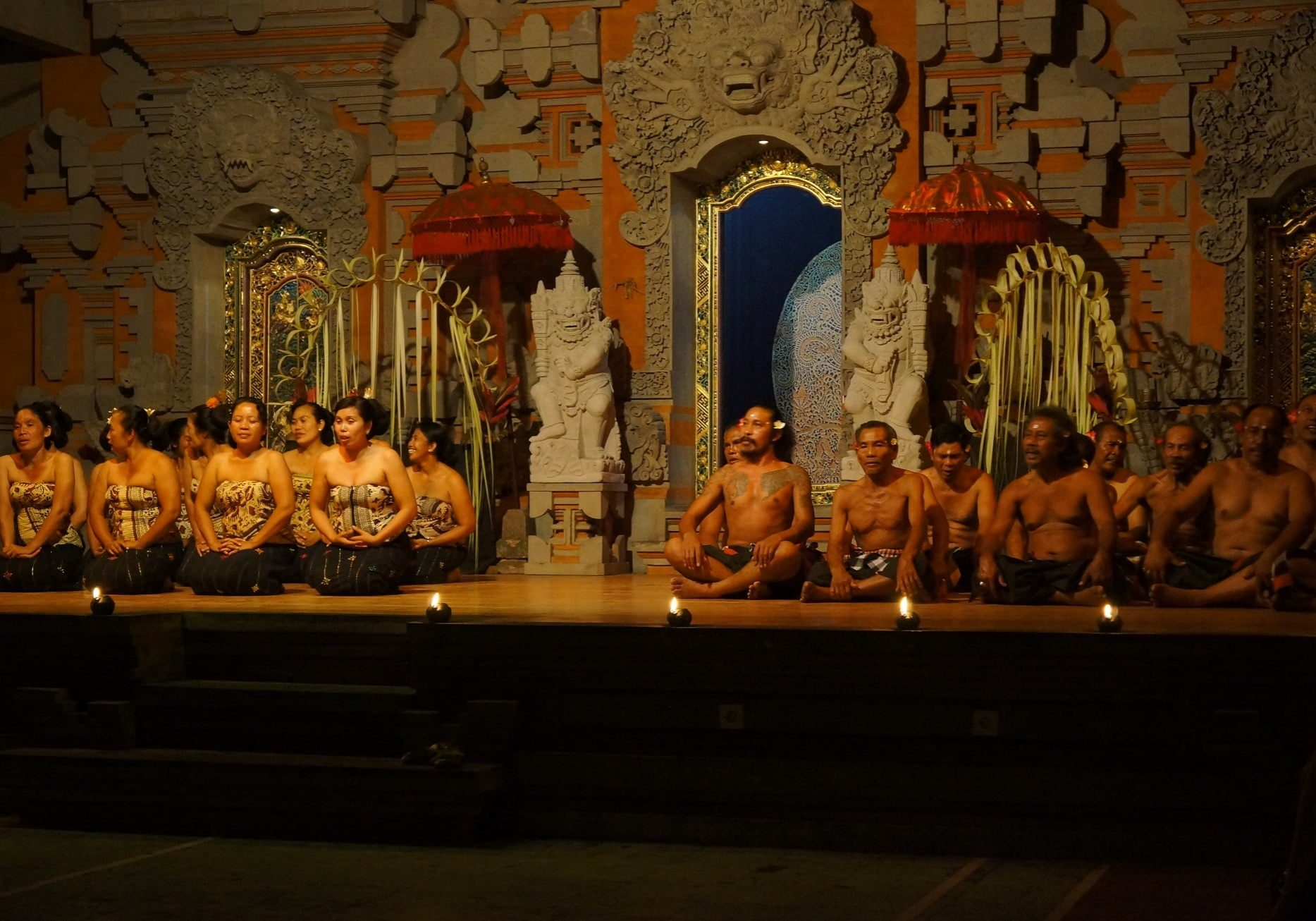 tanec Kečak, Bali, Ubud, Indonésie, Ásie, Vit Lastovka, Jaknacesty.cz (8)
